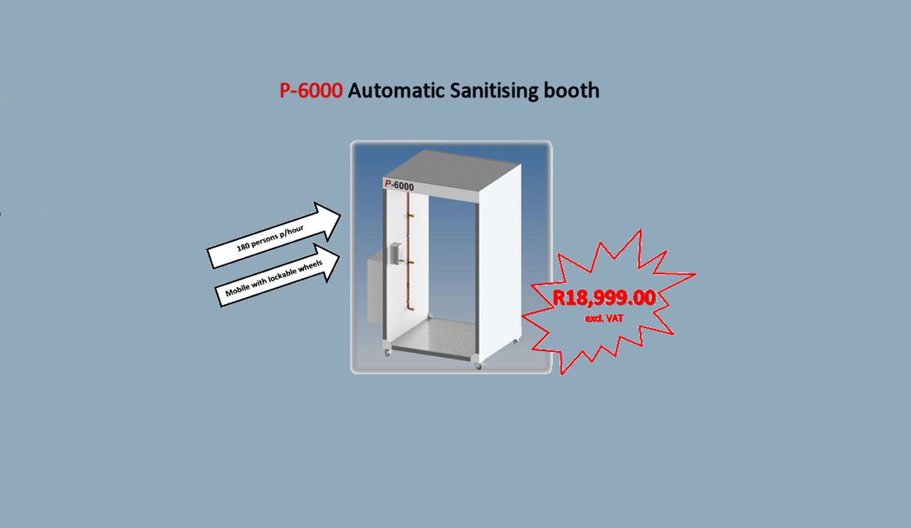 Automatic Sanitising booth